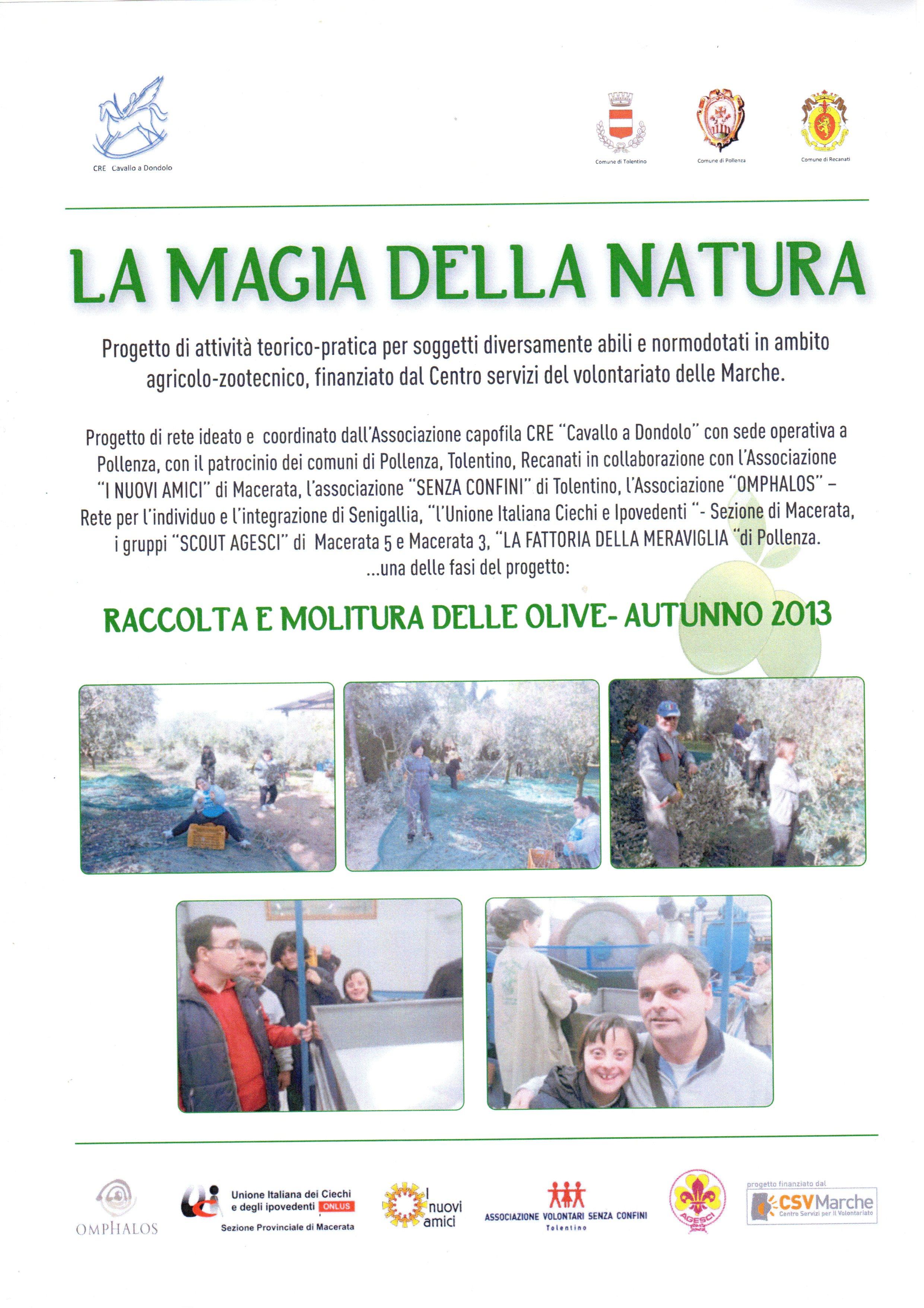 La magia della natura - Locandina progetto
